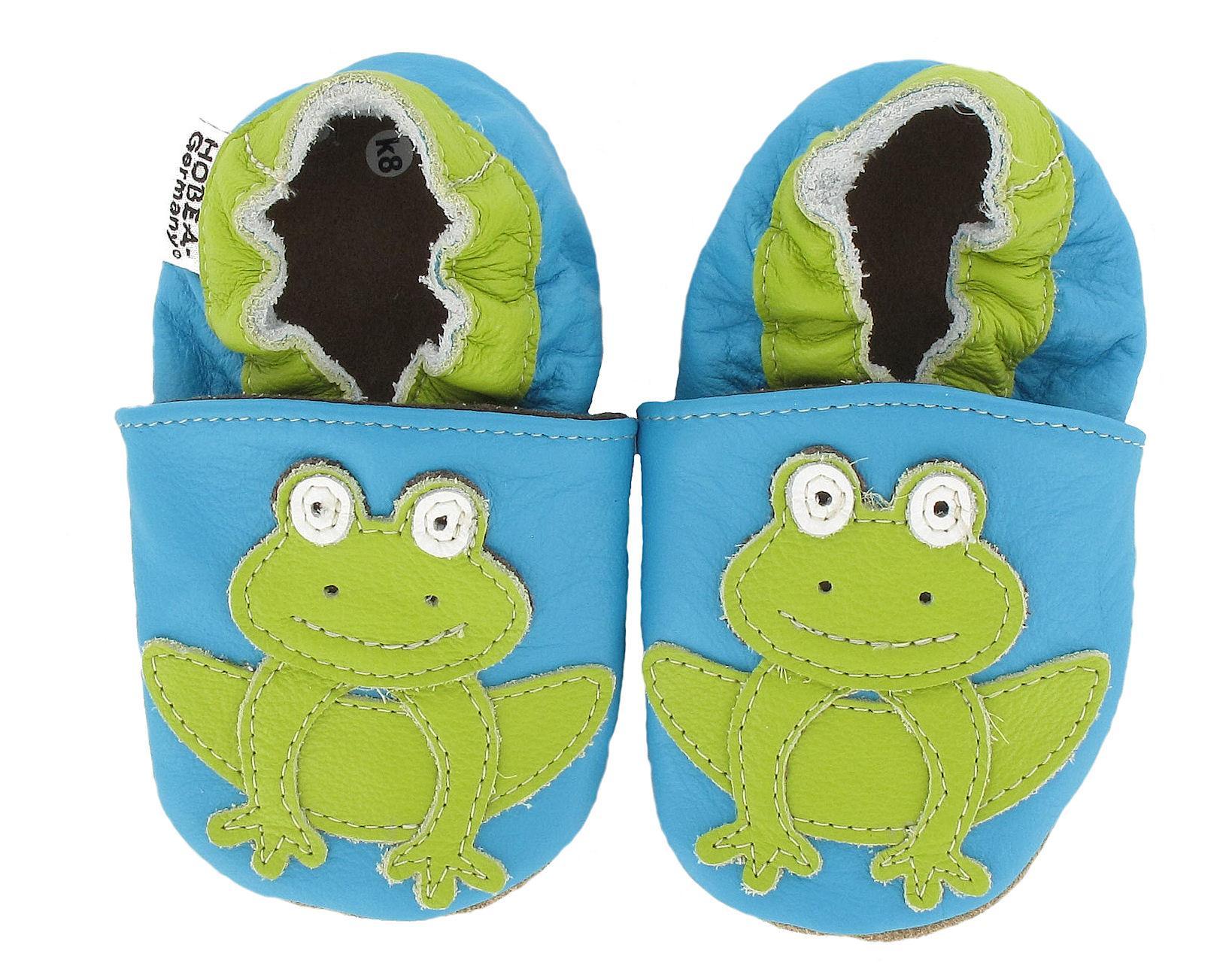 HOBEA-Germany Krabbelschuhe Frosch: Amazon.de: Schuhe & Handtaschen