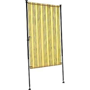 angerer balkon sichtschutz nr 8400 gelb 120 cm breit 2316 8400. Black Bedroom Furniture Sets. Home Design Ideas