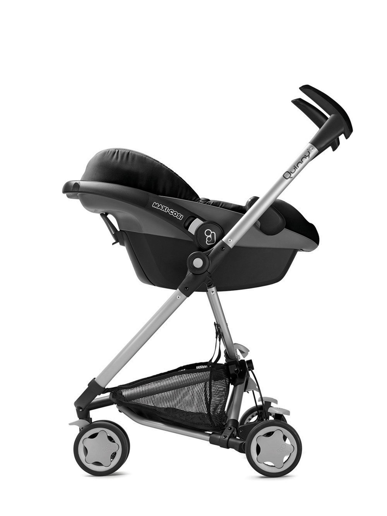 quinny zapp kinderwagen buggy kombiset mit maxi cosi babyschale erweiterbar superleicht und. Black Bedroom Furniture Sets. Home Design Ideas