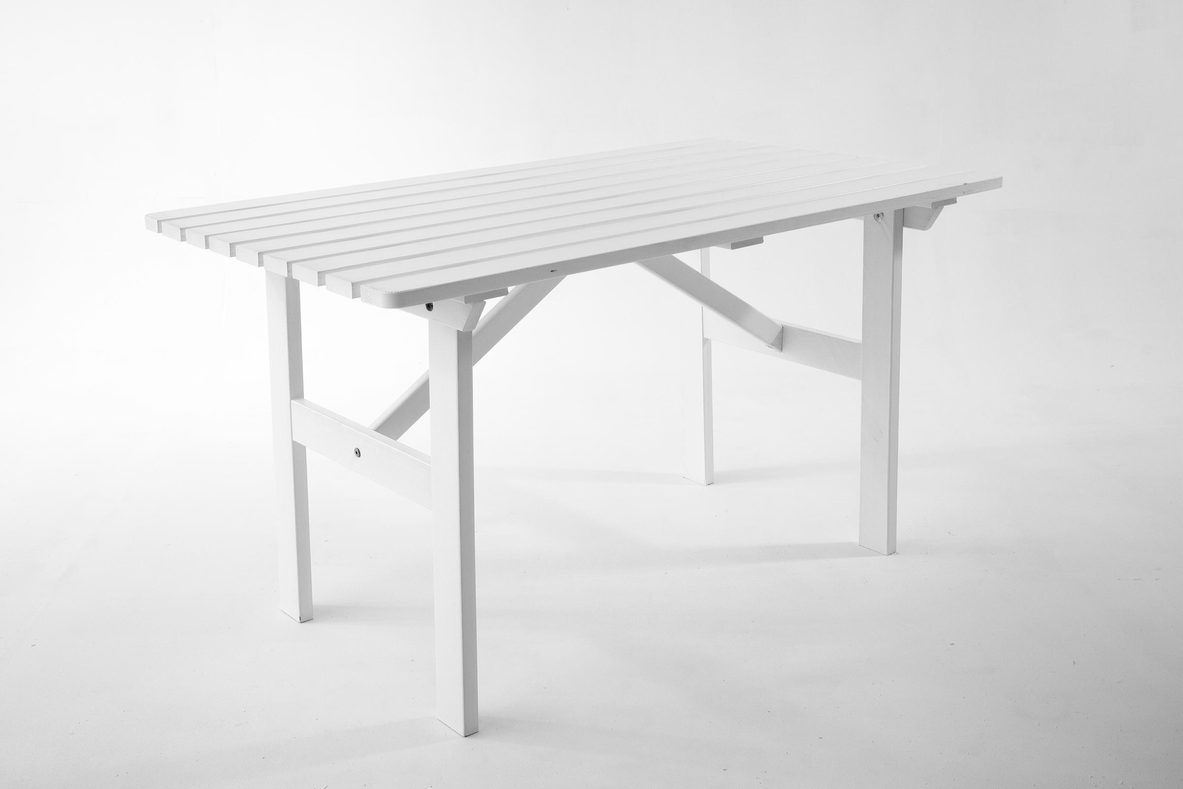 gartentisch wei holz of42 hitoiro. Black Bedroom Furniture Sets. Home Design Ideas
