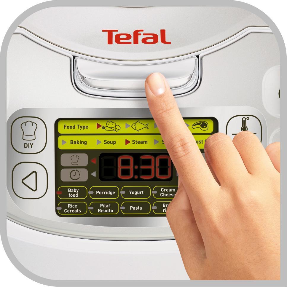 Amazon.de: Tefal RK8121 Multicooker 45 in 1, 750 W, 5 L