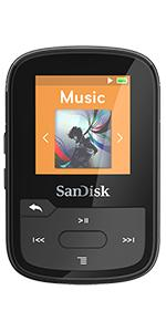 Sandisk Clip Sport Plus Wearable Mp3 Player Blau Audio Hifi