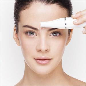 BRAUN Face 810 Epilierer Gesichtsepilierer & Gesichtsreinigungsbürste