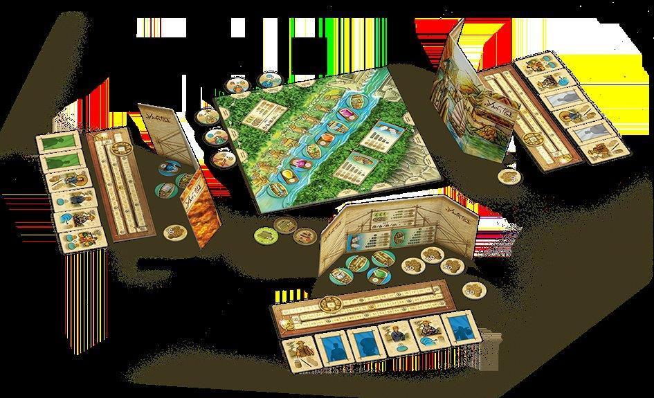 """Piatnik 6356 """"Yangtze Brettspiel: Amazon.de: Spielzeug"""