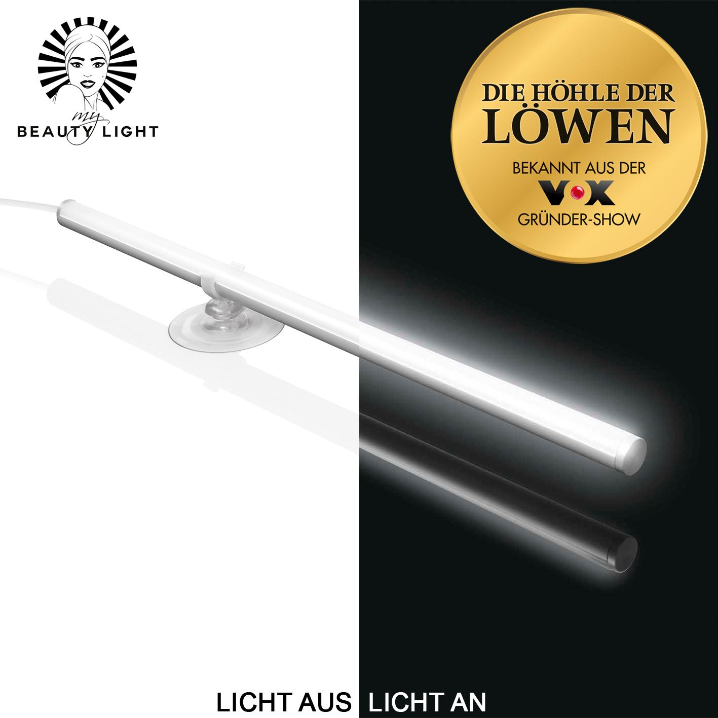 My beauty light 03690 led spiegelleuchte schminklicht - Amazon schminkspiegel ...