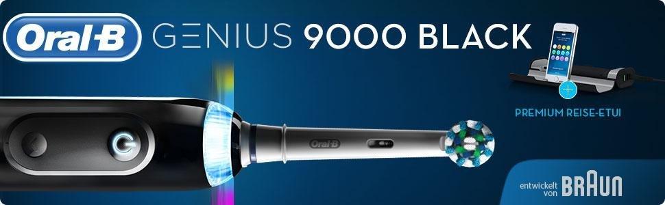 Genius 9000 CrossAction Elektrische Zahnbürste