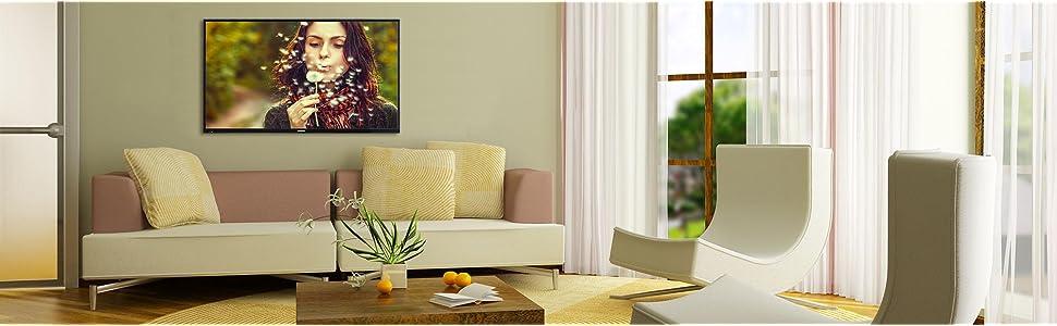 telefunken xf43a100 110 cm 43 zoll fernseher full hd triple tuner heimkino tv. Black Bedroom Furniture Sets. Home Design Ideas