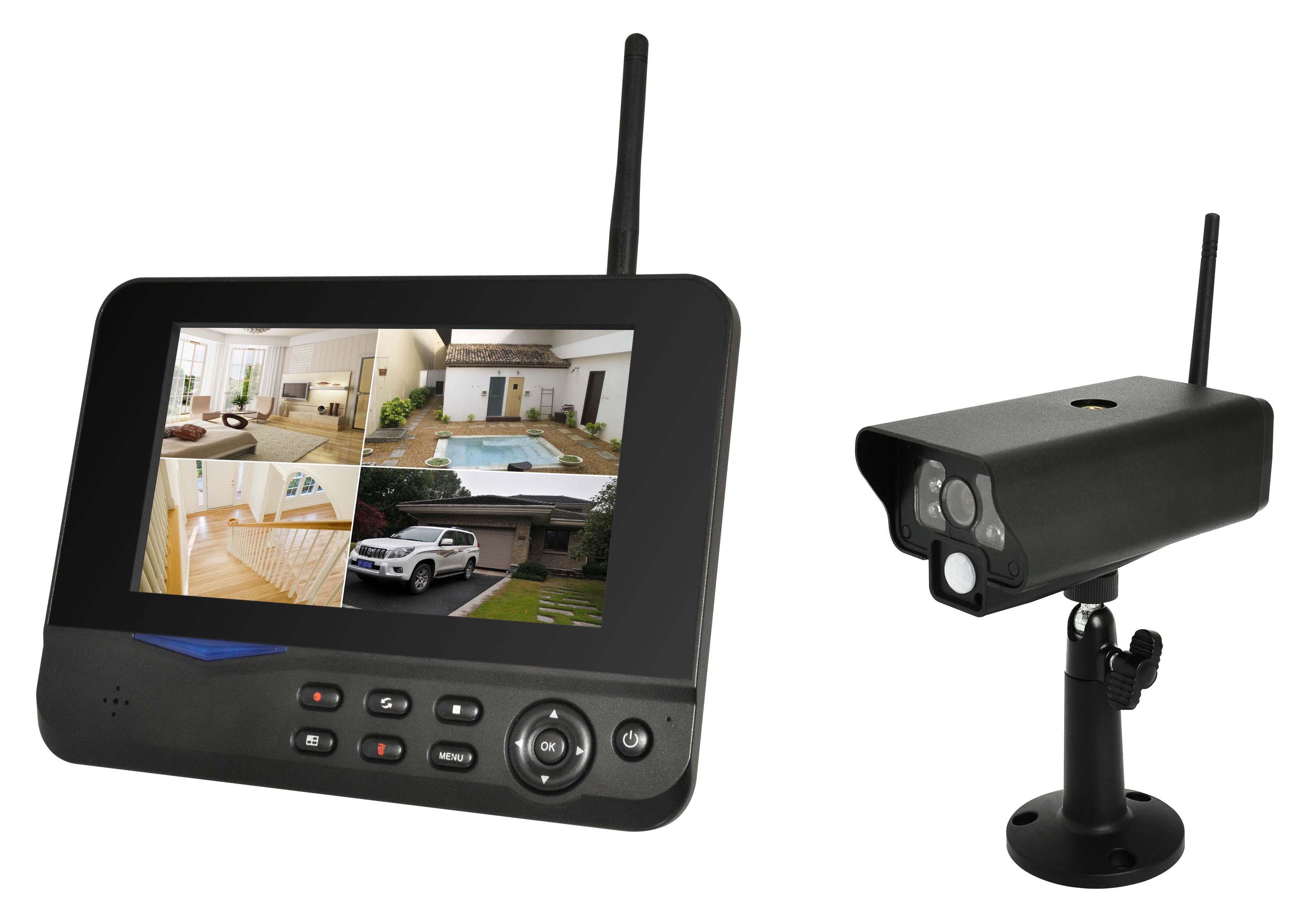 Tolle Mit Großer Reichweite Drahtlose Kamera Mit Monitor Fotos - Der ...