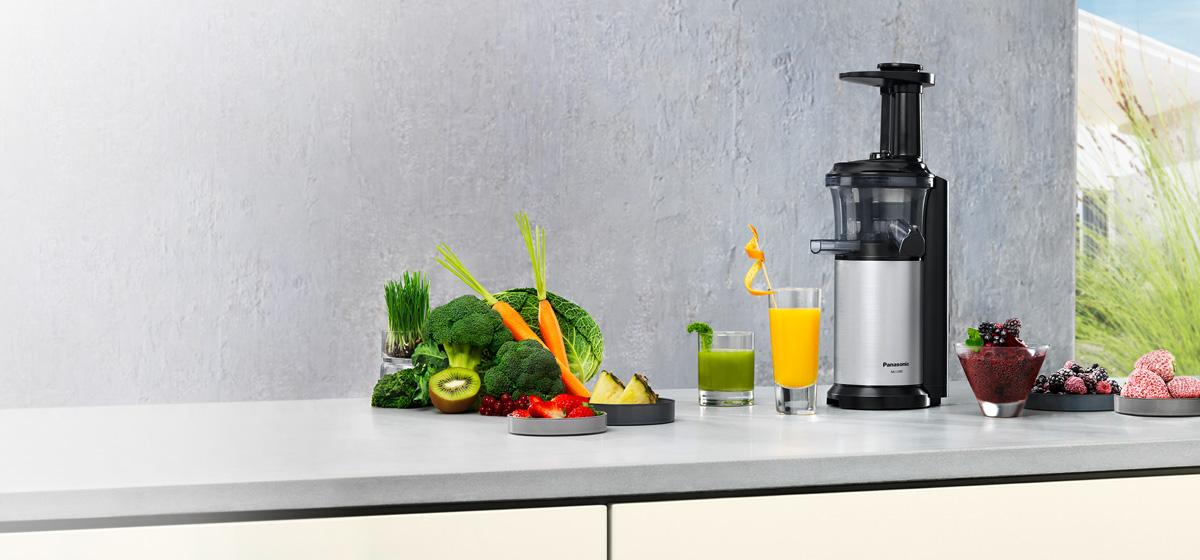 Panasonic Slow Juicer Frozen Joghurt : Amazon.de: Panasonic MJ-L500SXE Slow Juicer