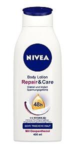 NIVEA Repair & Care Body Lotion, für sehr trockene Haut