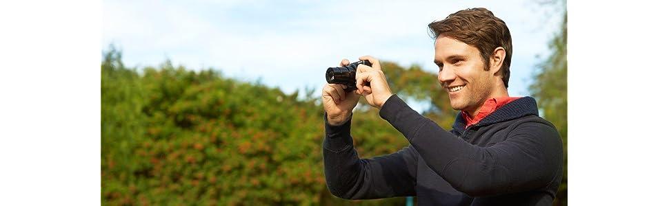 Sony DSC-HX60 Digitalkamera 3 Zoll schwarz: Amazon.de: Kamera
