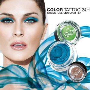 Maybelline eyestudio color tattoo 24h creme gel for Maybelline color tattoo creme de nude