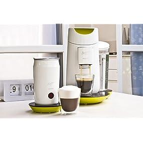 philips hd7874 10 senseo twist milk kaffeepadmaschine mit milchaufsch umer touch. Black Bedroom Furniture Sets. Home Design Ideas