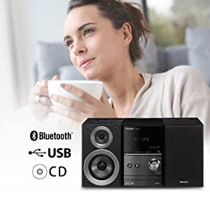 panasonic sc pm600eg k micro hifi 40 watt rms cd ukw. Black Bedroom Furniture Sets. Home Design Ideas