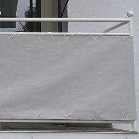 angerer balkonbespannung style granit h he 90 cm l nge 8 meter 3320 005 800. Black Bedroom Furniture Sets. Home Design Ideas