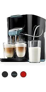 senseo hd7829 30 viva caf kaffeepadmaschine kaffee boost technologie rosa. Black Bedroom Furniture Sets. Home Design Ideas