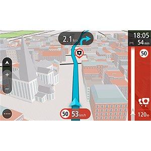 TomTom GO 50 Europe Traffic Navigationssystem 5 Zoll