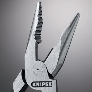 Knipex 0821145 Spitzkombizange 145mm sehr Schlank PVC Griff Kombizange