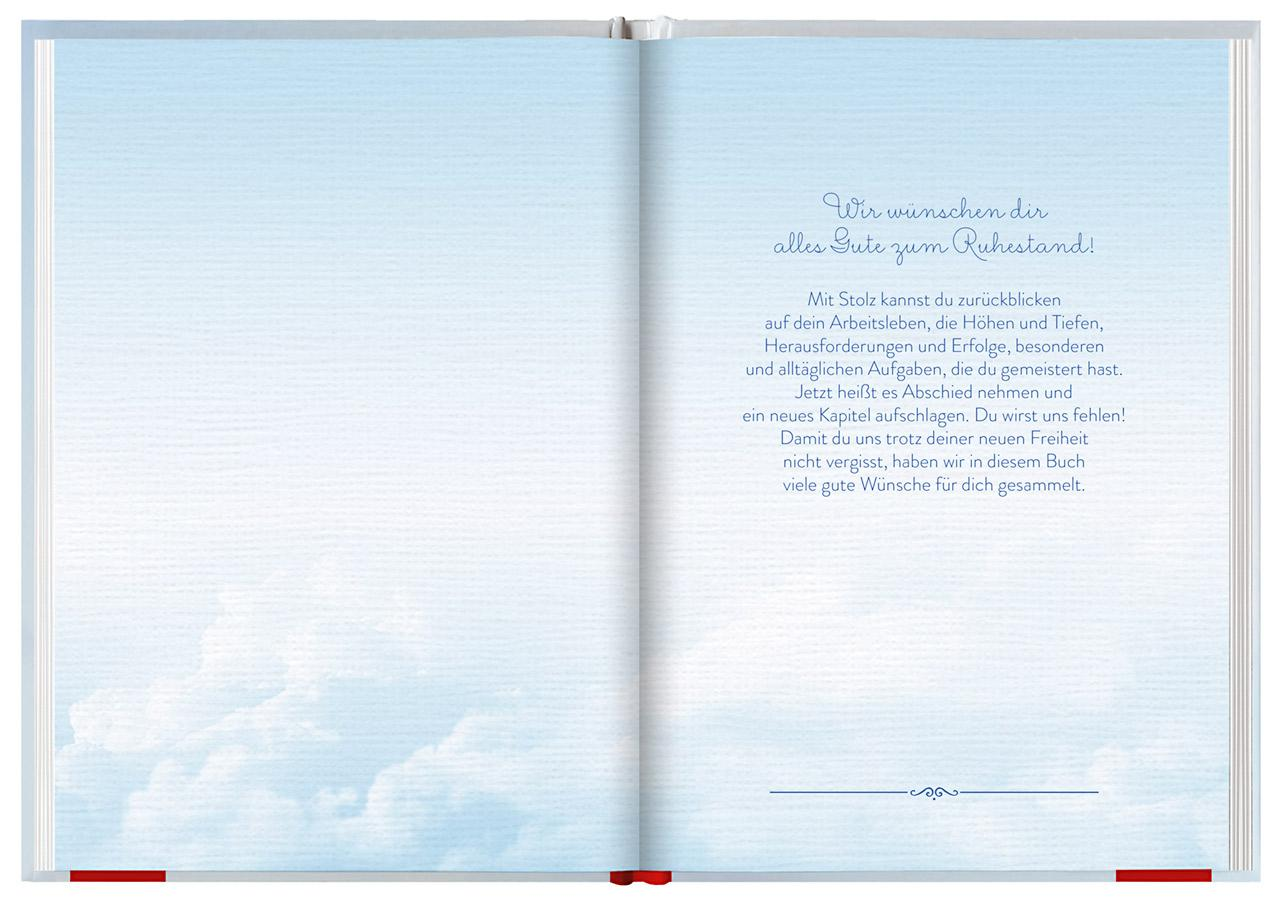 Was Wir Dir Wünschen Zum Ruhestand Eintragbuch Amazonde Joachim