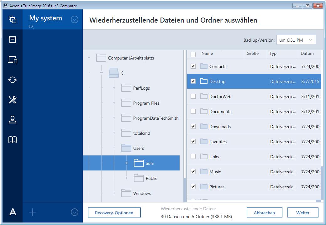 acronis backup downloads Multimedia mac os