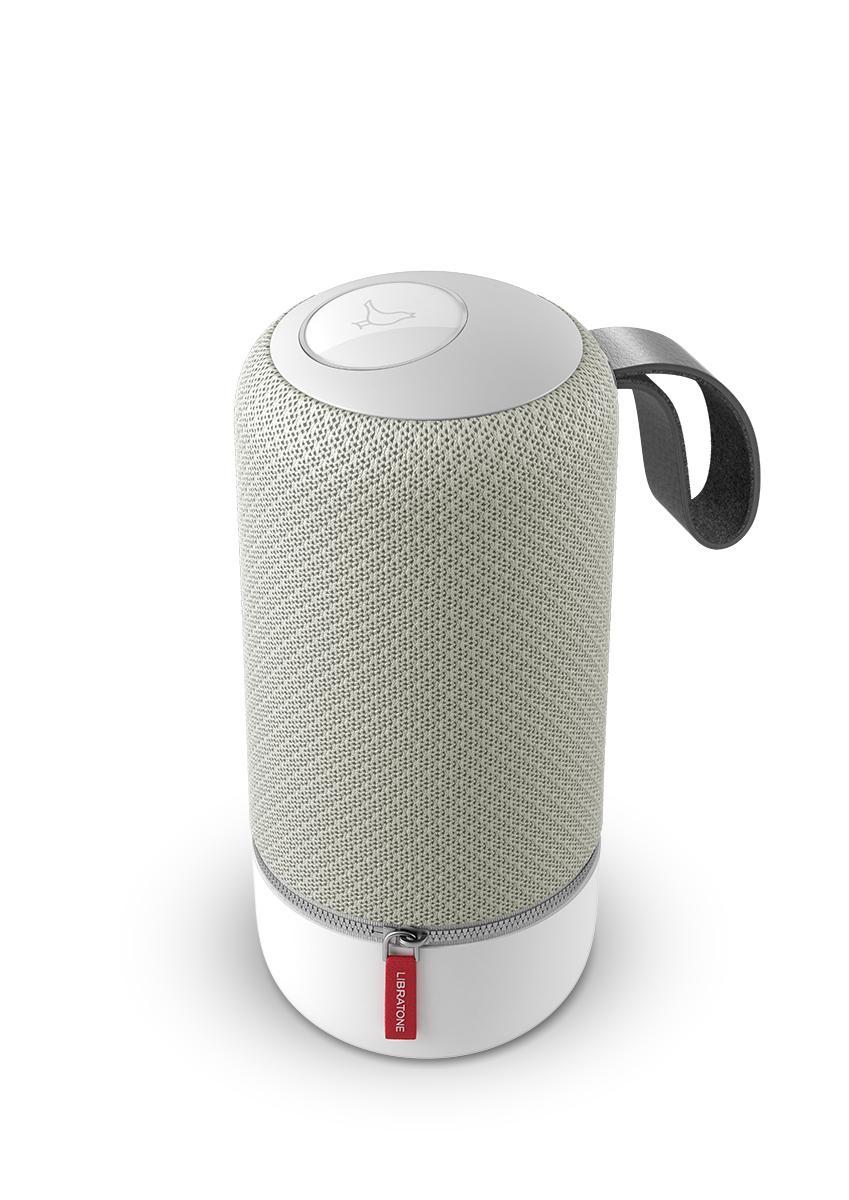 libratone zipp mini wireless multiroom lautsprecher 360 sound wifi airplay 2 bluetooth 10h. Black Bedroom Furniture Sets. Home Design Ideas