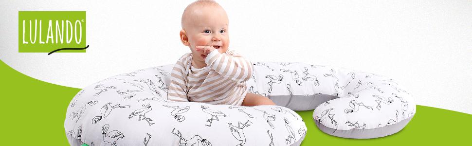 lulando schwangerschafts seitenschl fer kissen 130x60cm f r erwachsene und babys baby. Black Bedroom Furniture Sets. Home Design Ideas