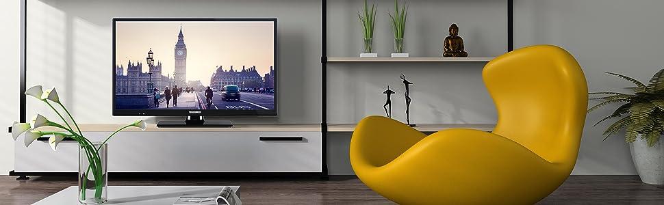 Telefunken XH24A101D 61 cm (24 Zoll) Fernseher (HD Ready