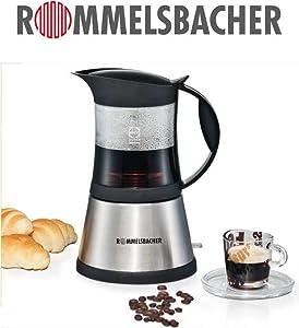 rommelsbacher eko 376 g elpresso cristallo elektrischer espressokocher schott. Black Bedroom Furniture Sets. Home Design Ideas