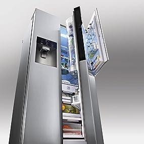 lg gs 9366 necz side by side k hl gefrier kombination a 179 cm h he 382 kwh jahr 405 l. Black Bedroom Furniture Sets. Home Design Ideas