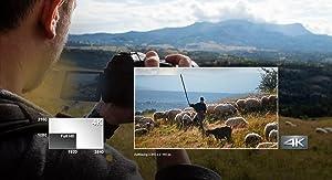 4K Video - Erfassen Sie jedes Detail