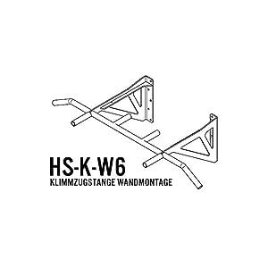 Klimmzugstange HS-K-W6 Test