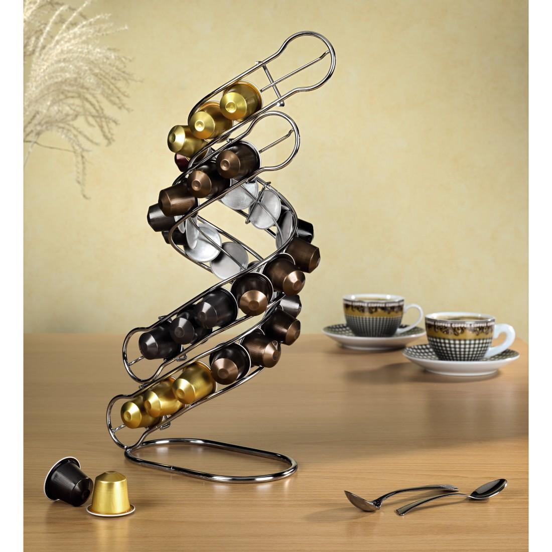 xavax kaffee kapselst nder tornado f r nespresso f r 30. Black Bedroom Furniture Sets. Home Design Ideas