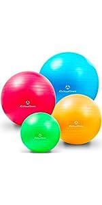 Fitnessball Gymnastikball
