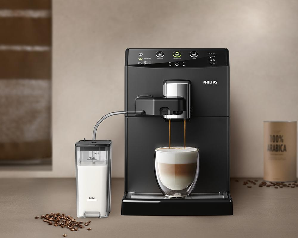 philips 3000 serie hd8829 01 kaffeevollautomat cappuccino auf knopfdruck schwarz 8710103772507. Black Bedroom Furniture Sets. Home Design Ideas