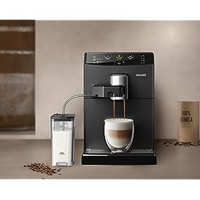 philips 3000 serie hd8829 01 kaffeevollautomat 1850 w cappuccino auf knopfdruck. Black Bedroom Furniture Sets. Home Design Ideas
