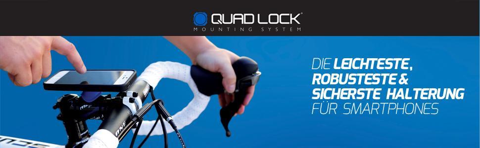 quad lock, bike kit, halterung, fahrradhalterung, iphone, smartphone fahrradhalterung