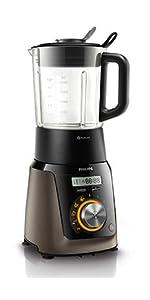 Wonderlijk Amazon.de: Philips HR2196/08 Standmixer Smoothietaste, Puls PA-84