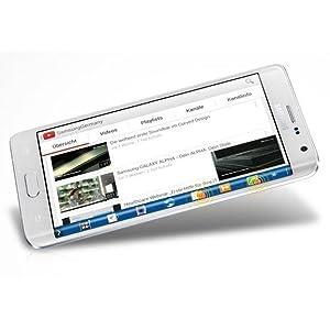 Samsung Galaxy Note Edge Smartphone 5,6 Zoll schwarz