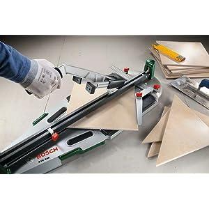Der Fliesenschneider PTC 640 ist besonders langlebig und sorgt für eine präzise Bruchkante.