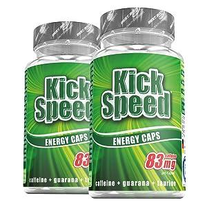 60 Kick Speed Kapseln pro Dose
