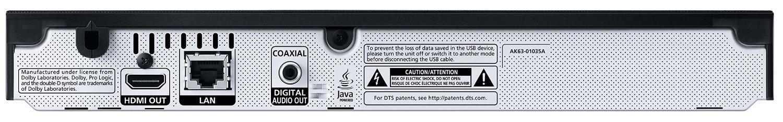 Samsung BD-J5500 3D Blu-ray Player (Curved Design, HDMI