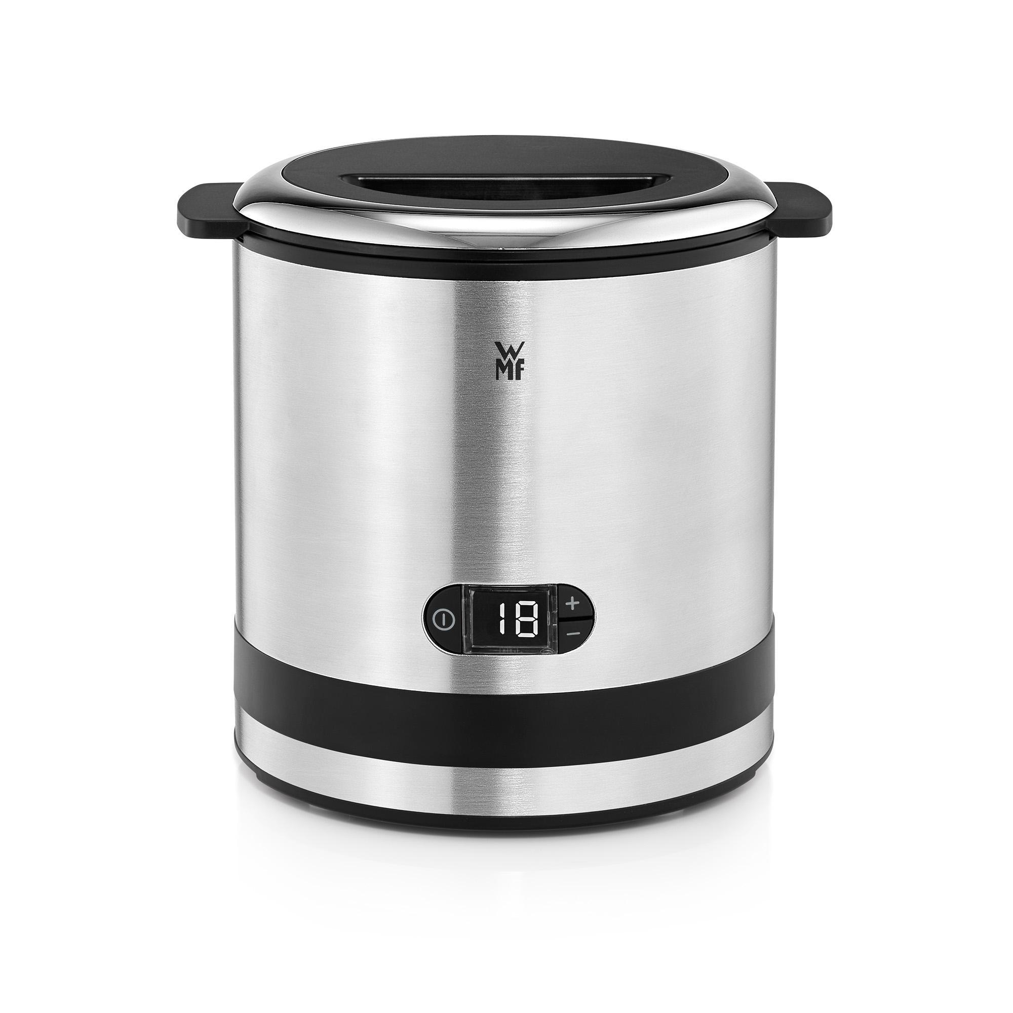 Amazon de WMF Küchenminis Eismaschine 3 in 1 für Frozen Yoghurt, Sorbet und Eiscreme, 300 ml