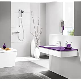 grohe vitalio start 160 brause und duschsystem mit umstellung hand kopfbrause 26226000. Black Bedroom Furniture Sets. Home Design Ideas