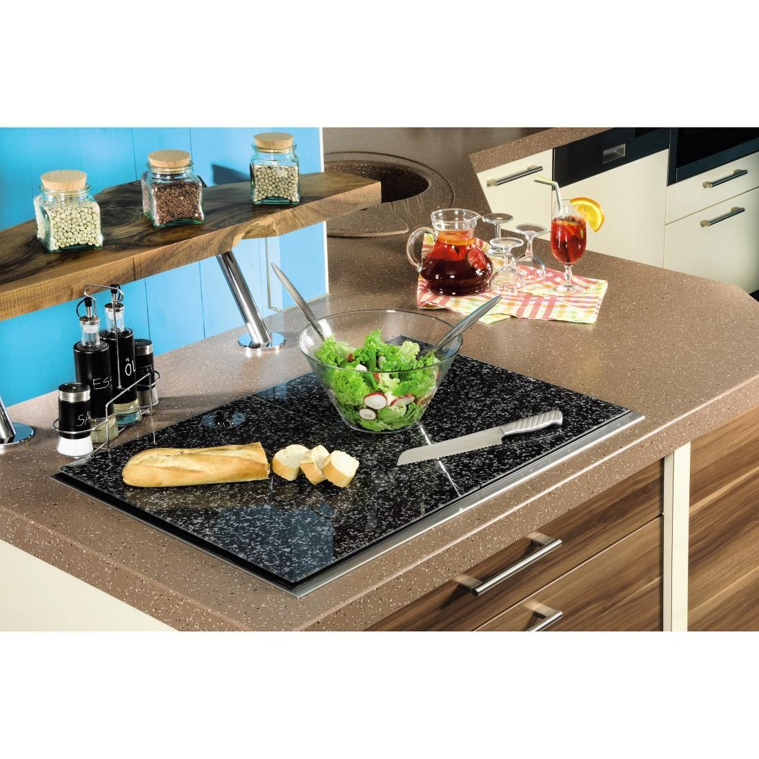 xavax herdabdeckplatte schneidebrett glas geh rtetes sicherheitsglas sp lmaschinengeeignet. Black Bedroom Furniture Sets. Home Design Ideas