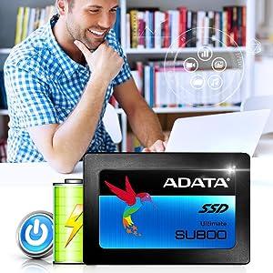 SU800;adata;a-data;SSD;schnell;Energieeffizienz;DEVSLP;Device Sleep