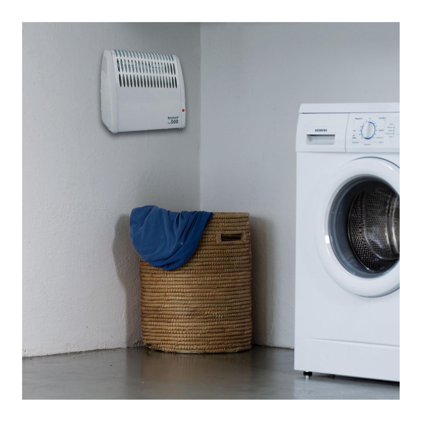 einhell frostw chter fw 500 jetzt verbessert 500 watt mica heizelement stufenloses. Black Bedroom Furniture Sets. Home Design Ideas