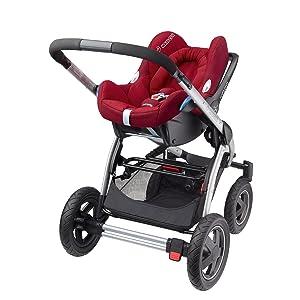 Maxi-Cosi CabrioFix Travelsystem mit Kinderwagen
