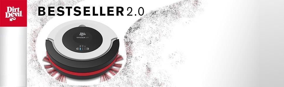 Dirt Devil Spider 2.0 Saugroboter M612 – Bestseller 2.0
