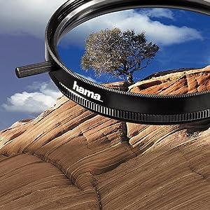 Hama Polarisations Filter 8 Fach Vergütung Für 43 Mm Kamera