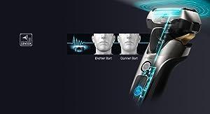 Präziser Bartdichten-Sensor